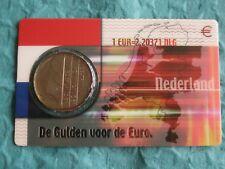 Nederland 2001 Coincard 1 Gulden