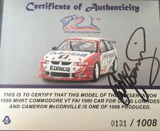 1:18 Autoart HRT 1999 Bathurst 1000 Craig Lowndes And Cameron Mcconville Car