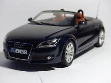 Audi TT Roadster Tiefseeblau Blau Minichamps 1:18 Neu OVP Audi Dealer 5010500525