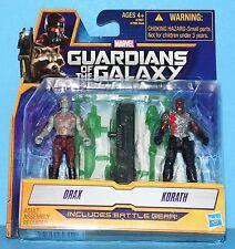 HASBRO GUARDIANS OF THE GALAXY MINI Action Figure DRAX & KORATH