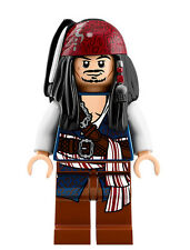 LEGO 71042 Pirates of the Caribbean Silent Mary Minifigure: Captain Jack Sparrow