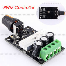 DC6-28V 3A Variable Motor Speed PWM Adjustable Regulator Controller Switch+Knob