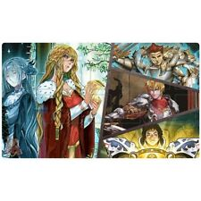 FREE SHIPPING Custom Yugioh Playmat Isolde Noble Knight Play mat Teamsamurai