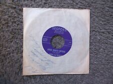 "DON CRAWFORD (DON & BUDDY) ""LOOK WHO'S CRYING"" b/w ""FOOLISH TEARDROPS"" VG+ AUTO."