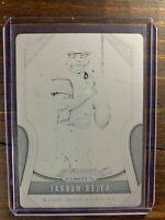 Kyle Murray Rookie Card #301 Panini Prizm 1 of 1 RC Print Plate NFL Cardinals