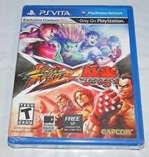 Street Fighter X Tekken for Playstation Vita Brand New! Factory Sealed!