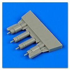 QUICKBOOST 1/48 F4U5 Corsair Gun Barrels w/Pylons for HSG QUB48672