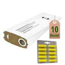 10 Filtertüten geeignet für Vorwerk Kobold 118 119 120 121 122 + Duft Limone