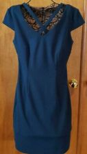 CLASSY TEAL DRESS BY CONNECTED APPAREL IN SIZE 10