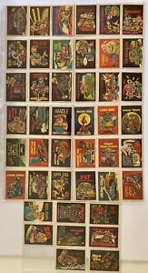 1978 Donruss CB Dictionary complete set of 44 stickers / Cards (TAP)