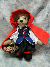 Annette Funicello Collectible Bear Co. Little Red Riding Hood Plush Bear
