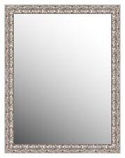 specchio specchiera con cornice in legno vari colori 69x89 centimetri