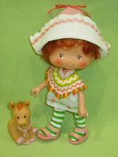 Strawberry Shortcake VINTAGE 1983 Friend CAFE OLE DOLL Outfit Shoes &Pet BURRITO