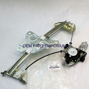 Genuine Toyota 93-98 Supra Left Driver Door Window Regulator M/Motor 69820-14180