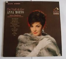 Anna Moffo 'One Night of Love' famous songs from stage and screen LP