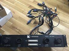 L-Acoustics pad04 anschlusspanel. diverse kodierstecker (2,3,4 caminos) a petición