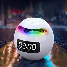CASSA PORTATILE CON RADIO FM USB SD BLUETOOTH TABLET SMARTPHONE CON SVEGLIA