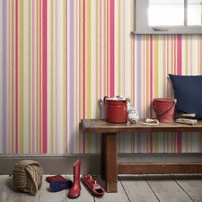 Pink / Lilac / Green - 70536 - What a Hoot - Harlequin Wallpaper