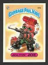 1985 Topps Garbage Pail Kids Series 1 Glossy JOLTIN' JOE #41b OS1 ~ NICE ~