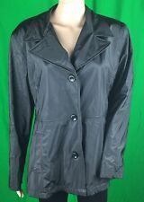 CS Signature Women's Black Basic Regular Jacket Blazer Size Large Pre Owned