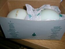 """Partylite Honeydew Mint 3"""" Ball Candles In Box # Q3652 New"""