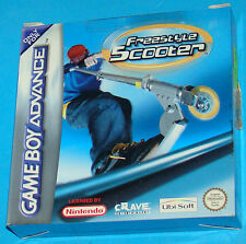 Freestyle Scooter - Game Boy Advance GBA Nintendo - PAL