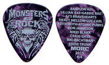Monsters Of Rock Cruise Guitar Pick 2015 Lillian Axe Babylon AD MORC Eddie Trunk