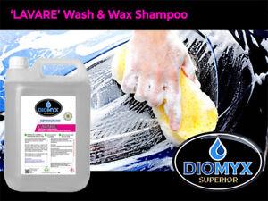 DIOMYX Superior 'LAVARE' PROFESSIONAL WASH 'N' WAX 5 LITRE