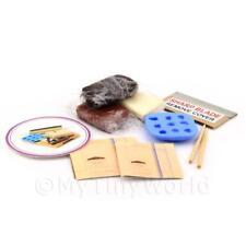 Maison de poupées 9 PIECE CHOCOLAT FABRICATION Kit avec Moule Silicone