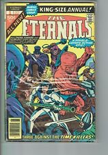 Eternals King Size Annual #1 FN+  STK2  Movie soon!