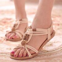 Women Sandals  Shoes Woman Summer Fashion Flip Flops Ladies Shoes Plus Size 36-4