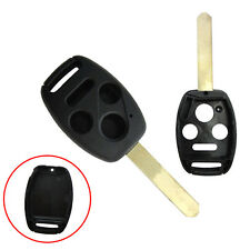 1PC Car Cutting Blade Remote Control Key Replacement Shell For Honda 3+1 Button