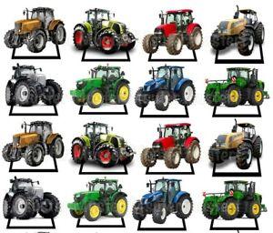 Traktor eßbar Torten-Bild-Aufleger Party Deko Muffin Kinder-Geburtstag Bauernhof