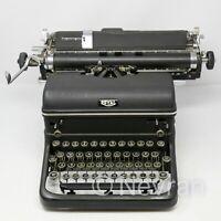 Vintage Royal Manual Typewriter Portable Touch Control Black