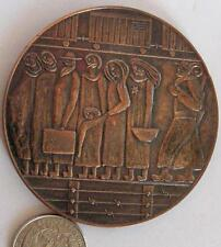"""Judaika bronze medal""""They were killed in hatred, save their memories of love"""""""