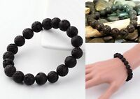 Lava Bead Chakra Meditation Aroma Scent Bracelet Yoga Essential Oil CUSTOM Made