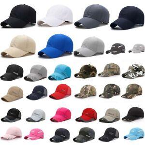 Men Women Summer Snapback Quick Dry Mesh Baseball Cap Sun Hat Breathable Hat HOT