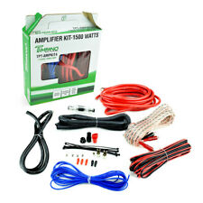 Timpano 4 Gauge Amp Kit Amplifier Install Wiring Complete 1500w Wire Car Audio