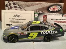 2017 Action William Byron #9 Axalta Iowa Win 1/24 Autographed