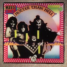 KISS Hotter Than Hell Coaster Ceramic Tile