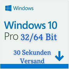 ✔Windows 10 Pro Professional | Win Vollversion 32/64Bit | Endnutzer Version✔