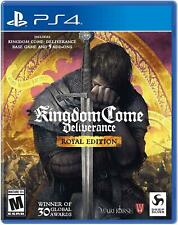 Kingdom Come: Deliverance Royal Edition PS4 (Sony PlayStation 4, 2018) Brand New