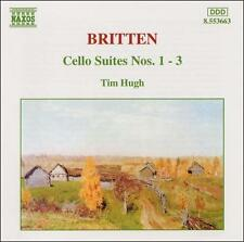 Britten: Cello Suites Nos. 1-3, New Music