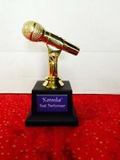 Karaoke/Singing Trophy Customized
