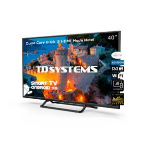 """Smart TV 40"""" Full HD, HbbTV TD Systems K40DLX9FS-S [Tara técnica Outlet]"""