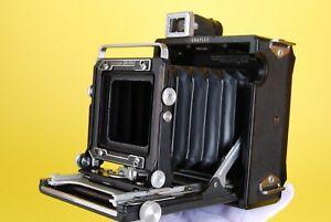 "Graflex Century Graphic Medium Format Press Camera with ""23"" 6x9 Roll Back"