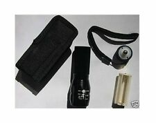 US LED Flashlight Torch with Holster and Bike Holder Super Bright MINI CREE Q5