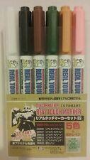 Gunze Sangyo /Gundammarker GMS 113, Real touch paint marker set.