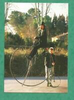 CARTE POSTALE CPM  CYCLE VELO GRAND BI rijwiel  kaartje GAMLE cykel BICYCLETA