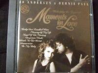 Bo Andersen Moments in love (1989, & Bernie Paul) [CD]
